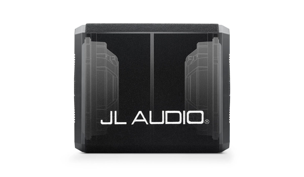 JL Audio CS212OG-TW3 ProWedge Sealed Dual Subwoofer Enclosure 4Ω