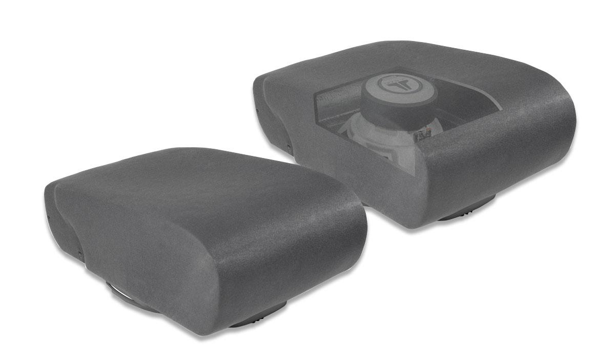 JL Audio SB-D-TRKCTR2/12W3v3 Stealthbox® for 1998-2001 Dodge Ram 1500 & 1998-2002 Dodge Ram 2500/3500 with 40/20/40 split front bench seat