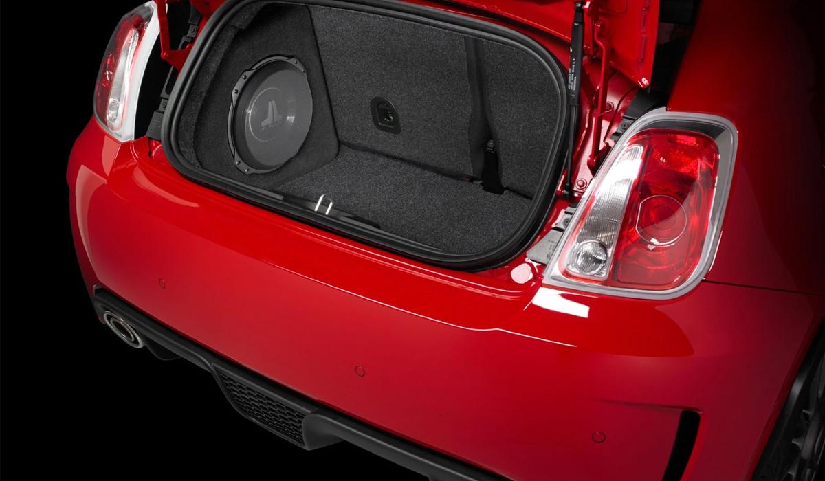 JL Audio SB-FIAT-500/10TW3 Stealthbox® for 2007-Up Fiat 500