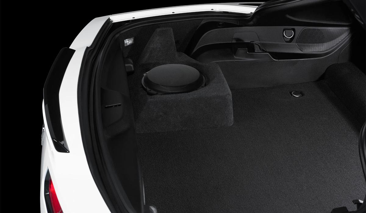 JL Audio SB-GM-C7CP1/10TW3 Stealthbox® for 2014-Up Chevrolet C7 Corvette Coupe (Single Driver)
