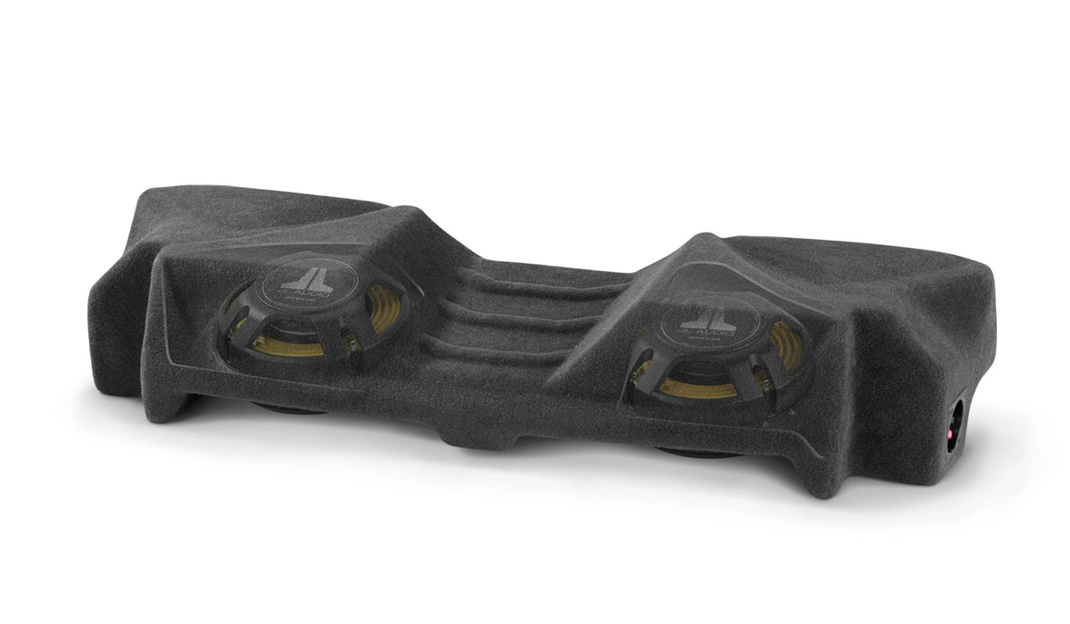 JL Audio SB-GM-C7CP2/10TW3 Stealthbox® for 2014-Up Chevrolet C7 Corvette Coupe (Dual Driver)