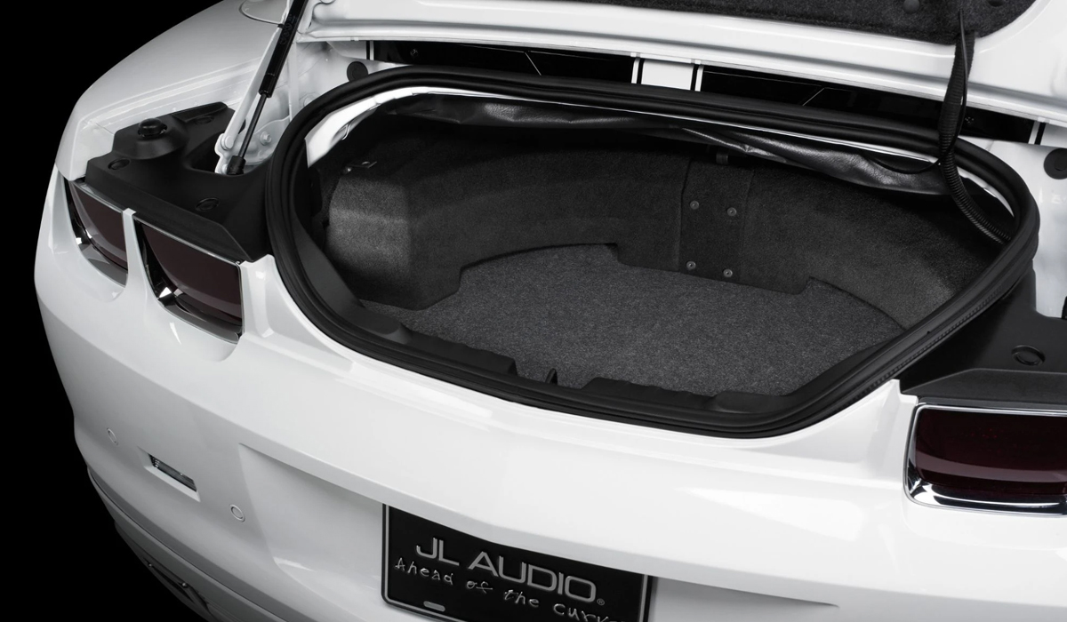 JL Audio SB-GM-CAMCONV/10W1v3 Stealthbox® for 2011-2015 Chevrolet Camaro Convertible
