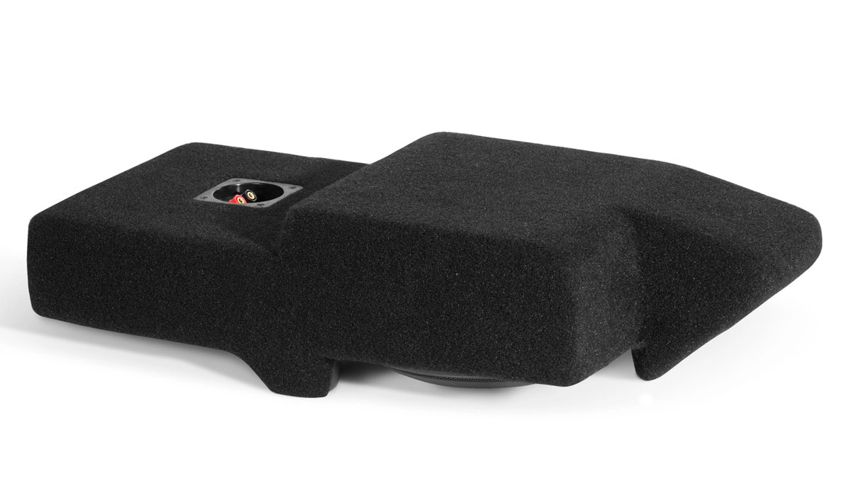 JL Audio SB-GM-TAHOCNSL/10W1v3 Stealthbox® for 2007-2013 Chevrolet / GMC Full-Size SUV's / Trucks with front bucket seats