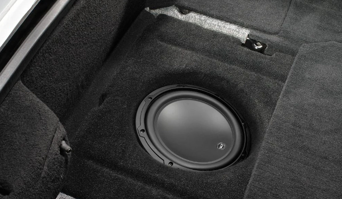 JL Audio SB-GM-VET/10W3v3/BK Stealthbox® for 1997-2004 Chevrolet C5 Corvette with Black interior