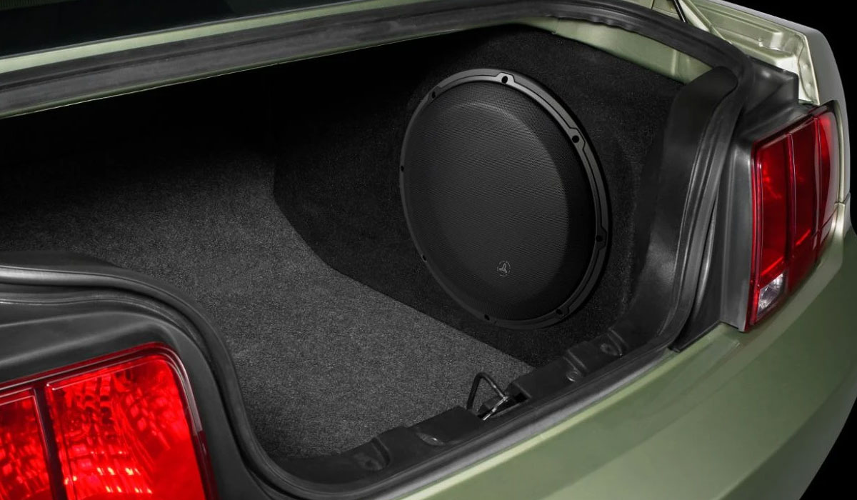 JL Audio SB-F-MUCUPE/13W3v3 Stealthbox® for 2005-2009 Ford Mustang Coupe