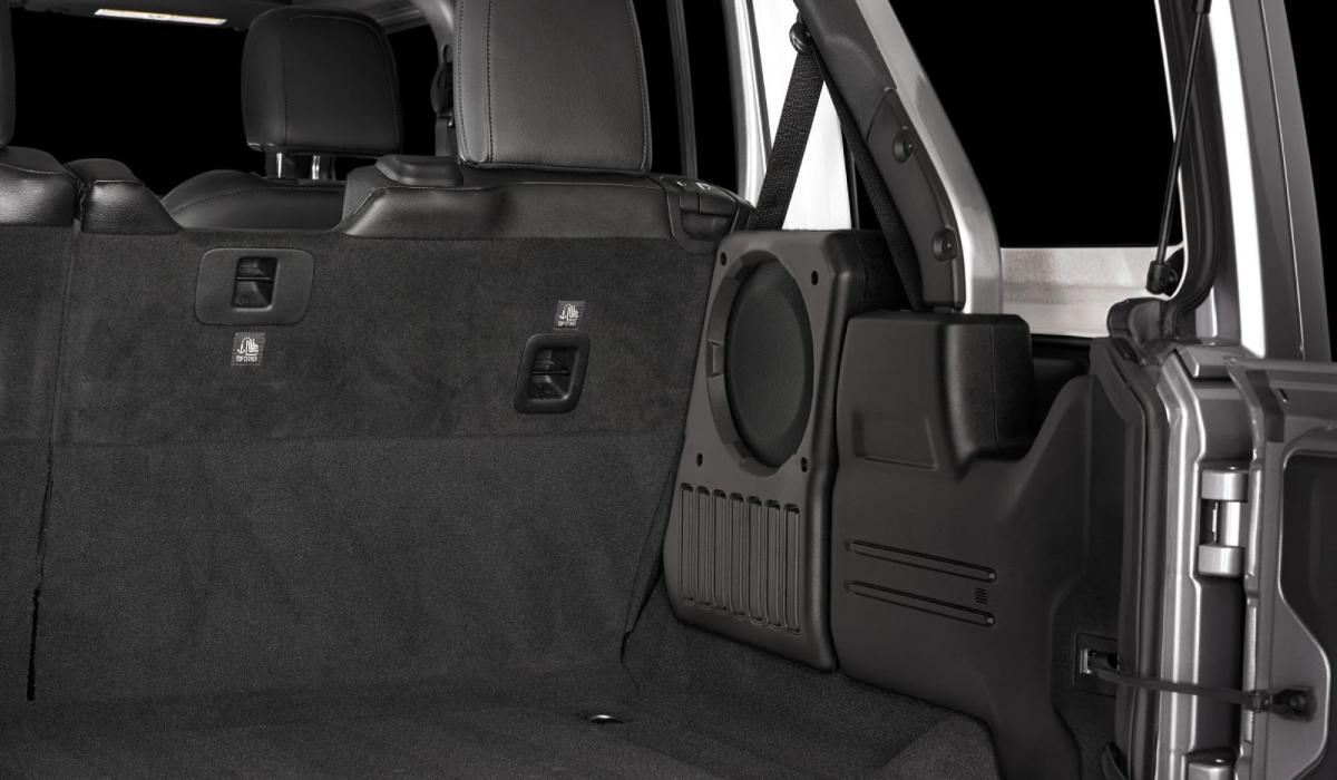 JL Audio SB-J-JL4DPAS/10TW1-4 Stealthbox® for 2018-Up Jeep Wrangler Unlimited (Passenger Side - 4 Ω)