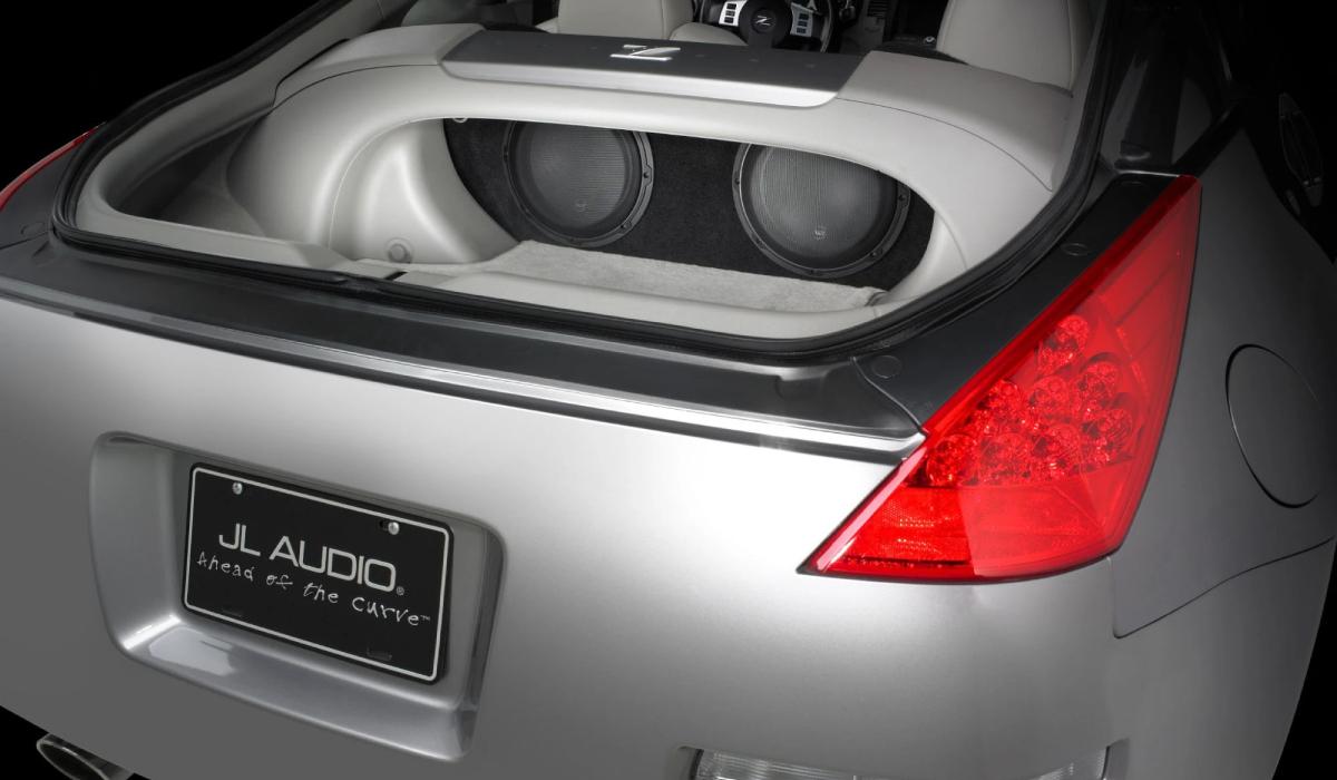 JL Audio SB-N-350/10W3v3 Stealthbox® for 2003-2008 Nissan 350Z