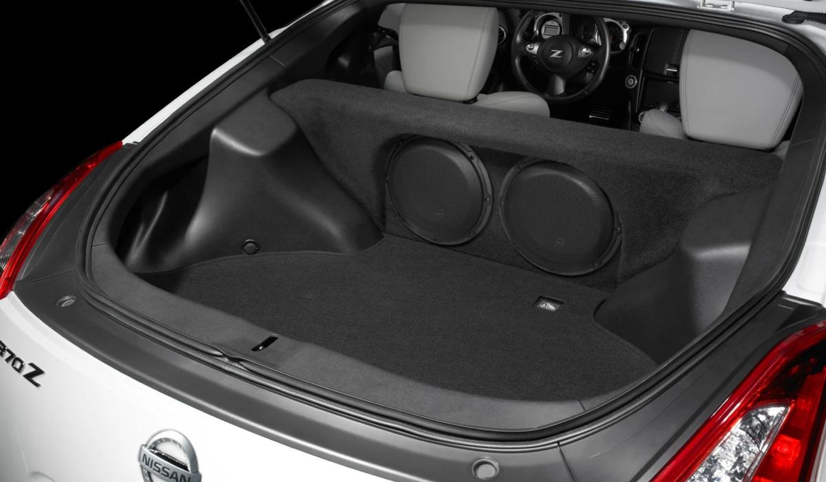 JL Audio SB-N-370/10W3v3 Stealthbox® for 2009-Up Nissan 370Z