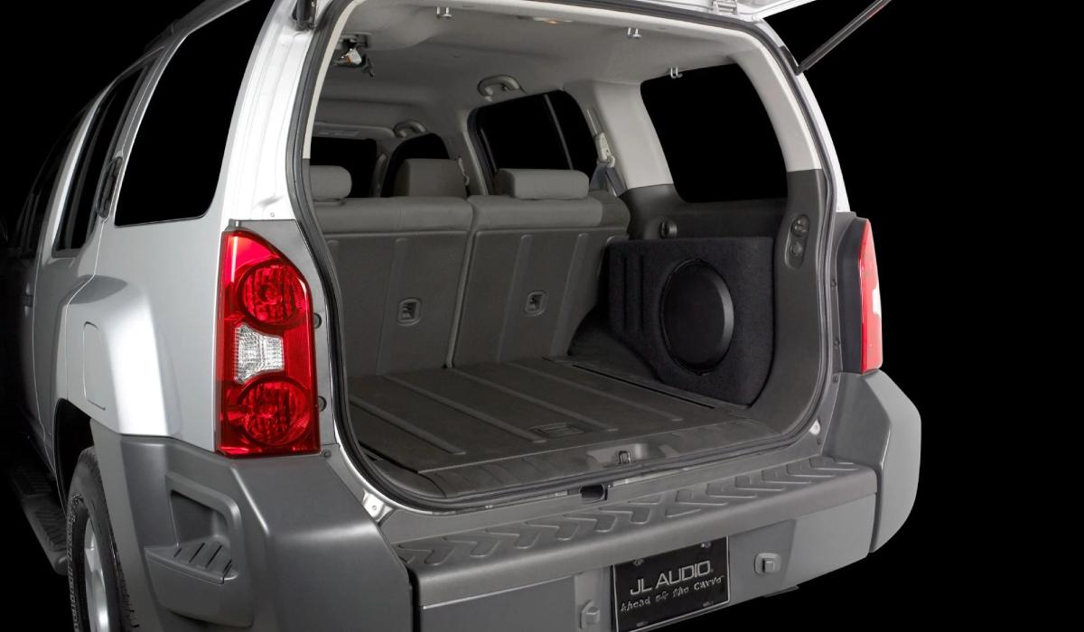 JL Audio SB-N-XTERR2/12W3v3 Stealthbox® for 2005-2015 Xterra