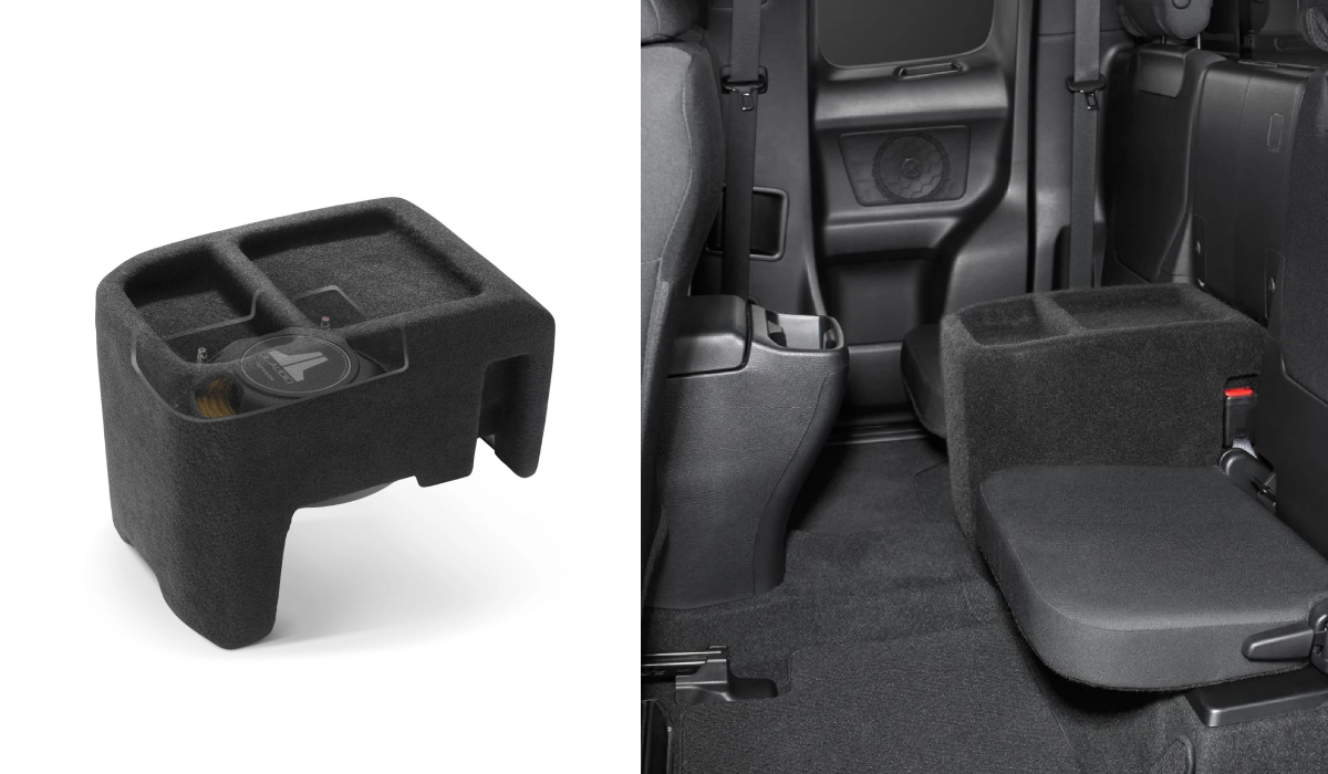 JL Audio SB-T-TACACG3/10TW3 Stealthbox® for 2016-Up Toyota Tacoma Access Cab