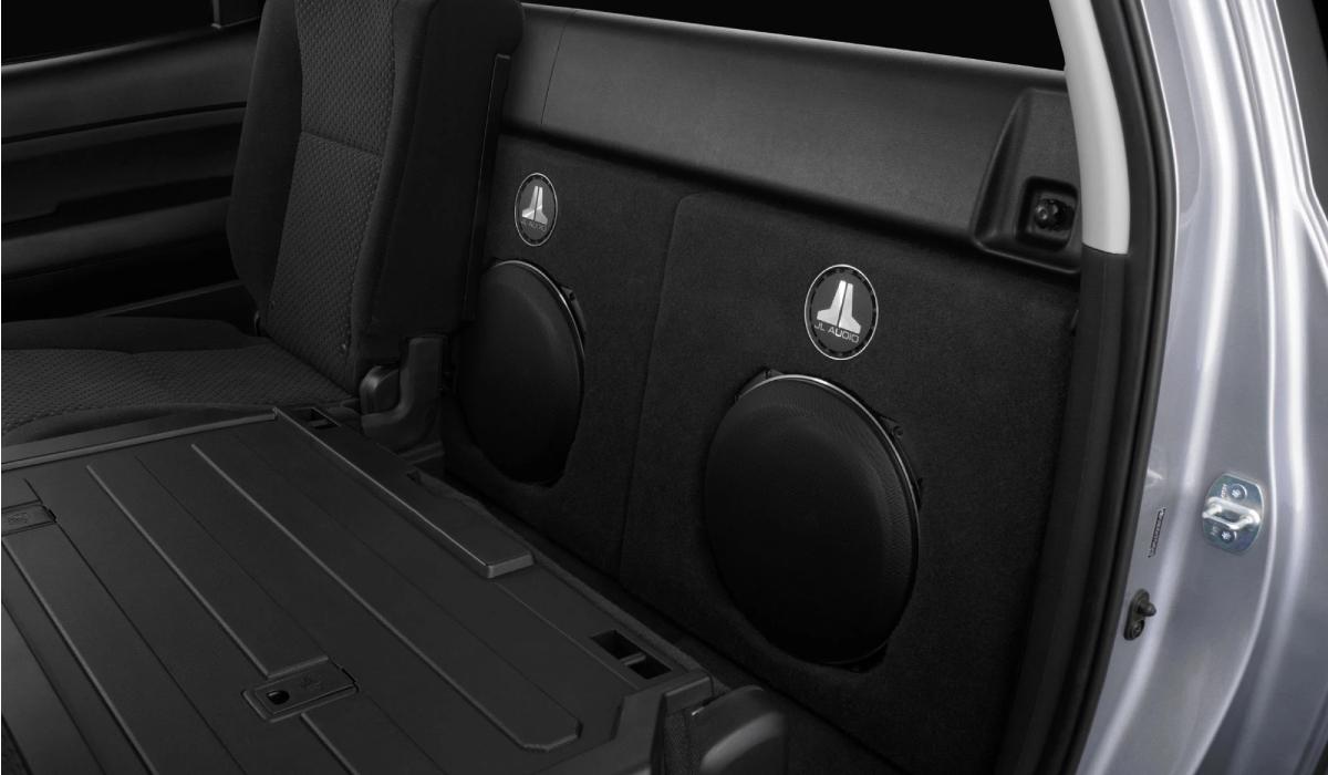 JL Audio SB-T-TUNDCMAX/13TW5v2 Stealthbox® for 2007-2013 Toyota Tundra CrewMax