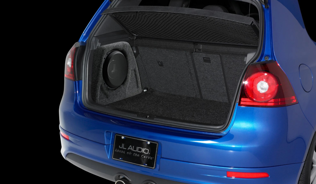 JL Audio SB-VW-GTI/10TW3 Stealthbox® for 2006-2013 Volkswagen GTI / Rabbit / R32 (A5) 2dr/4dr