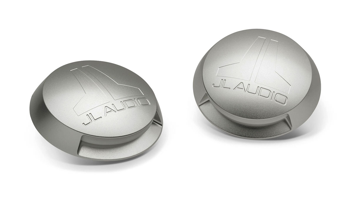 JL Audio M-LCA-C-W Enclosed Speaker System Light Caps for 7.7-inch ETXv3 and 6.5-inch VeX™ models, Pair