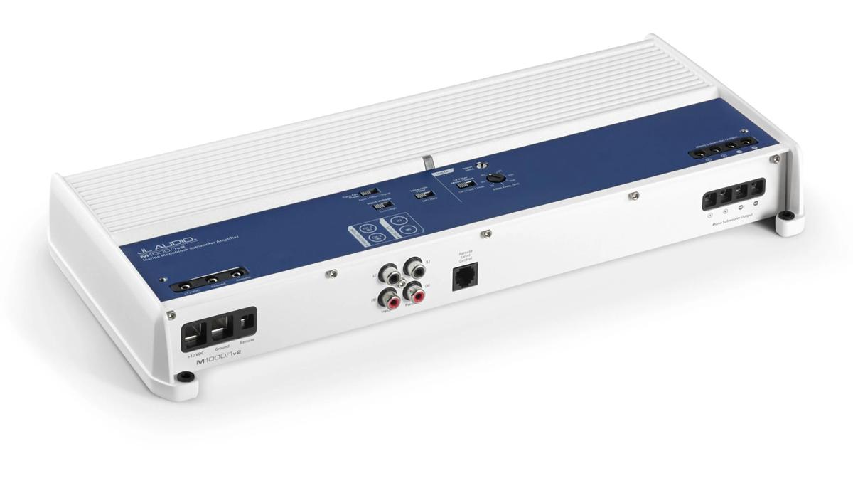 JL Audio M1000/1v2 1000 W Monoblock Class D Marine Subwoofer Amplifier