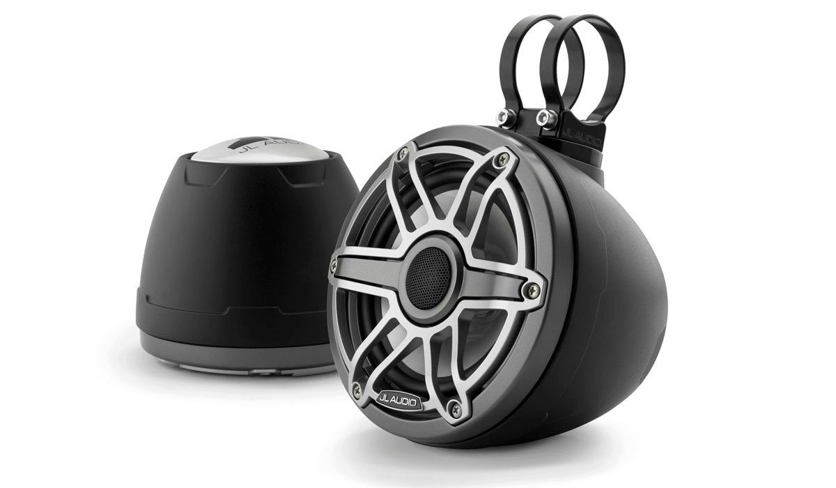 JL Audio M6-650VEX-Mb-S-GmTi Enclosed Coaxial System