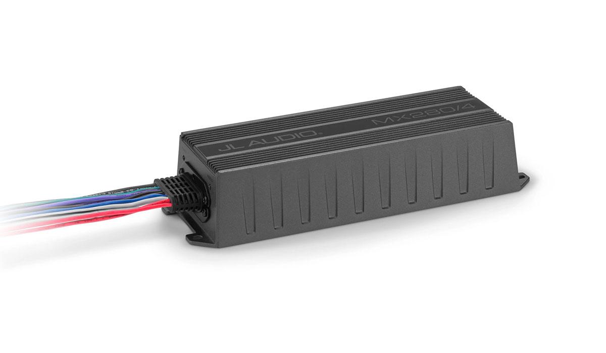 JL Audio MX280/4 280 W 4 Ch. Class D Full-Range Amplifier