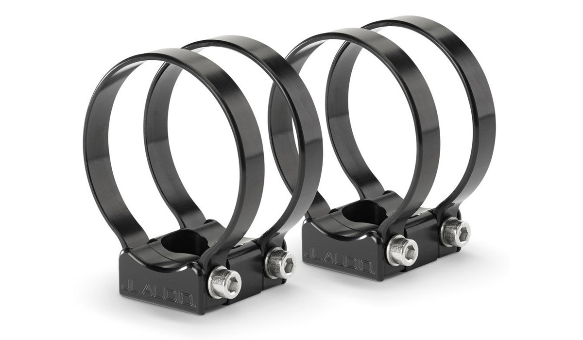 JL Audio PS-SWMCP-B-2.750 VeX™ Enclosed Speaker System Swivel Mount Fixture for Pipe Mounting