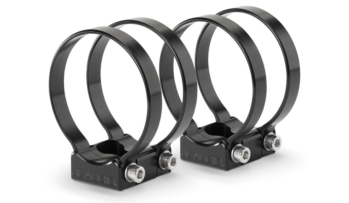 JL Audio PS-SWMCP-B-2.875 VeX™ Enclosed Speaker System Swivel Mount Fixture for Pipe Mounting