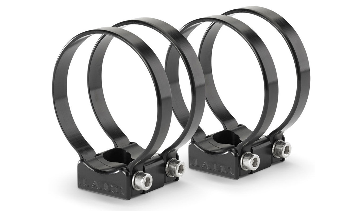 JL Audio PS-SWMCP-B-3.000 VeX™ Enclosed Speaker System Swivel Mount Fixture for Pipe Mounting