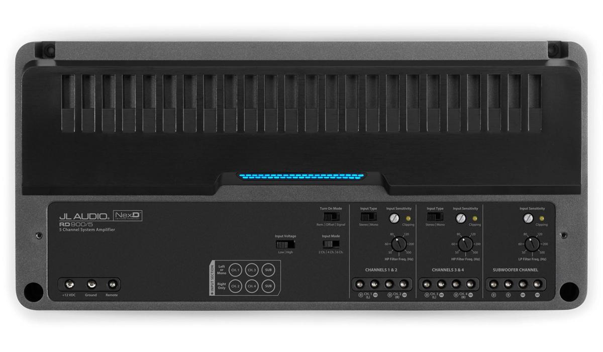 JL Audio RD900/5 5 Ch. Class D System Amplifier