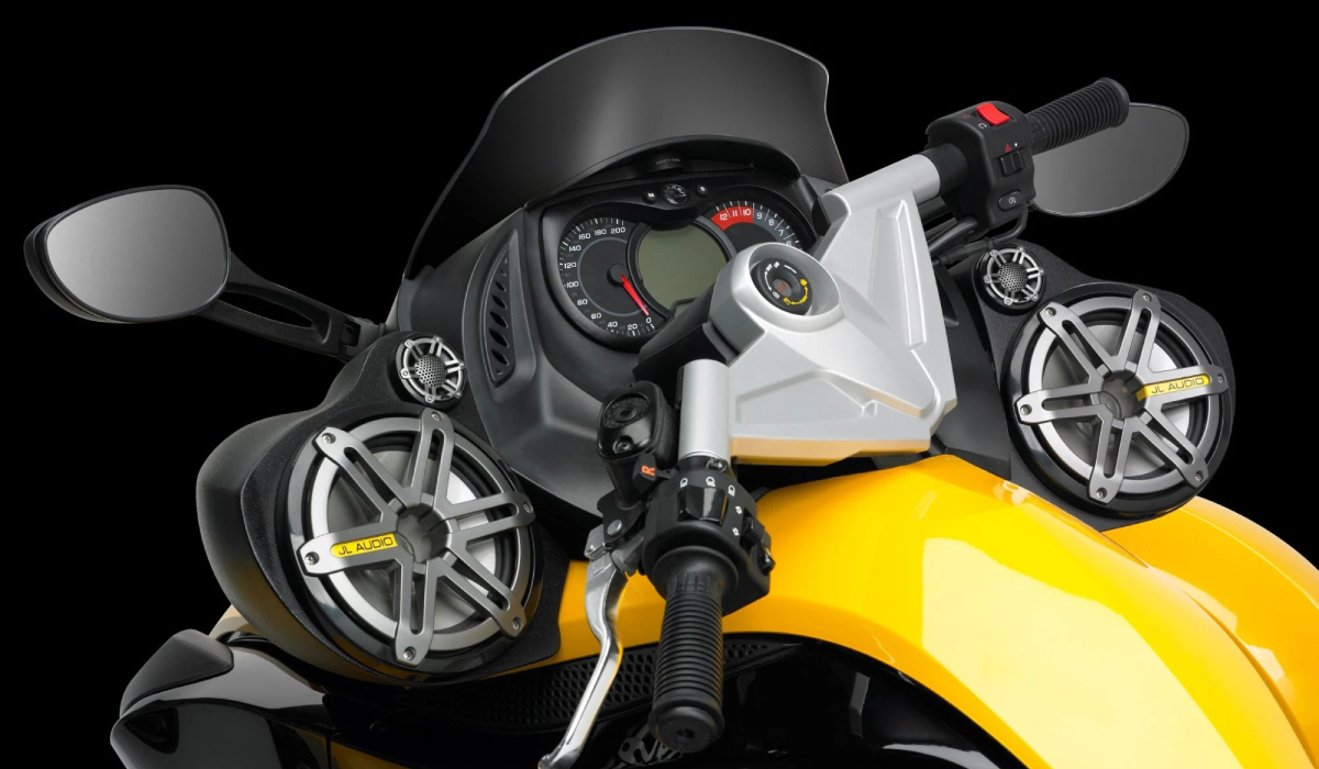 JL Audio SB-CAN-PODS1-M770 Stealthbox® for 2007-2016 Can-Am Spyder RS Roadster, Speaker Pods