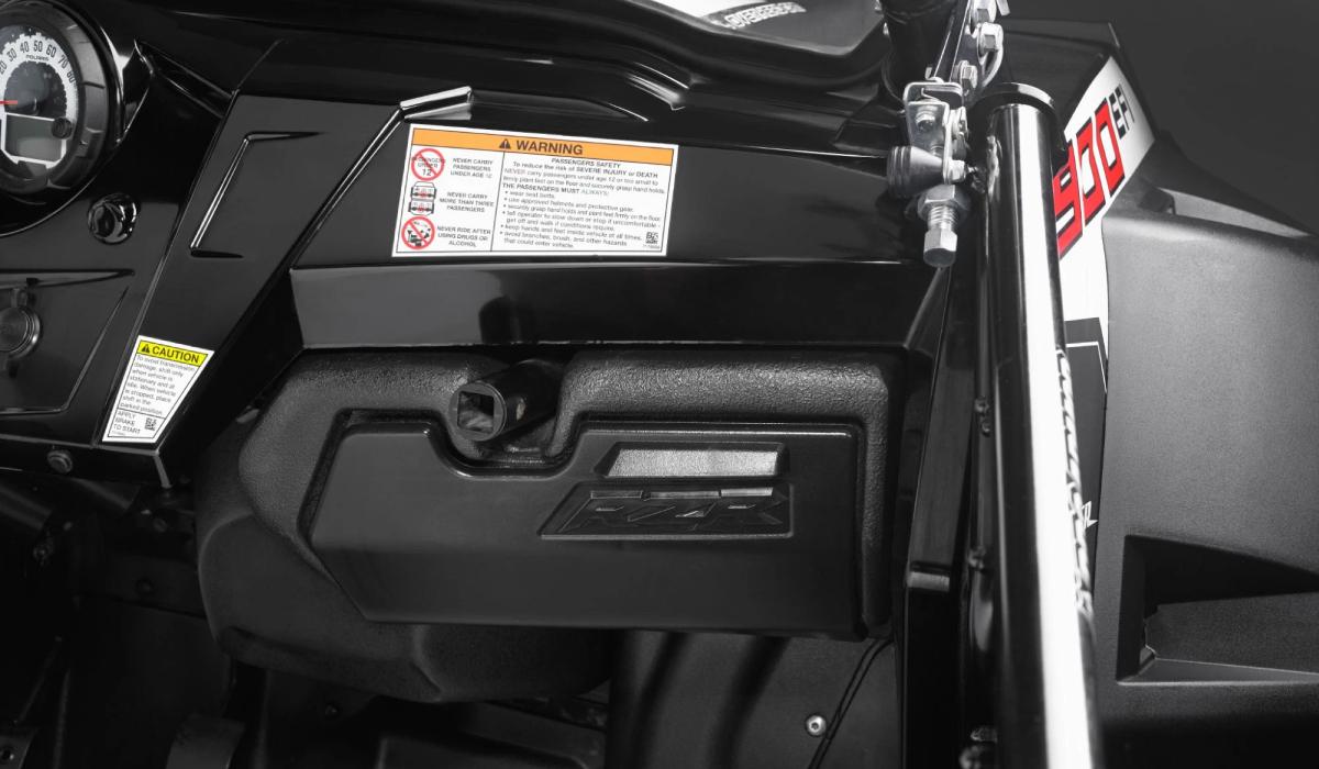 JL Audio SB-POL-RZG1/10TW3 Stealthbox® for 2011-2013 Polaris RZR XP4 900