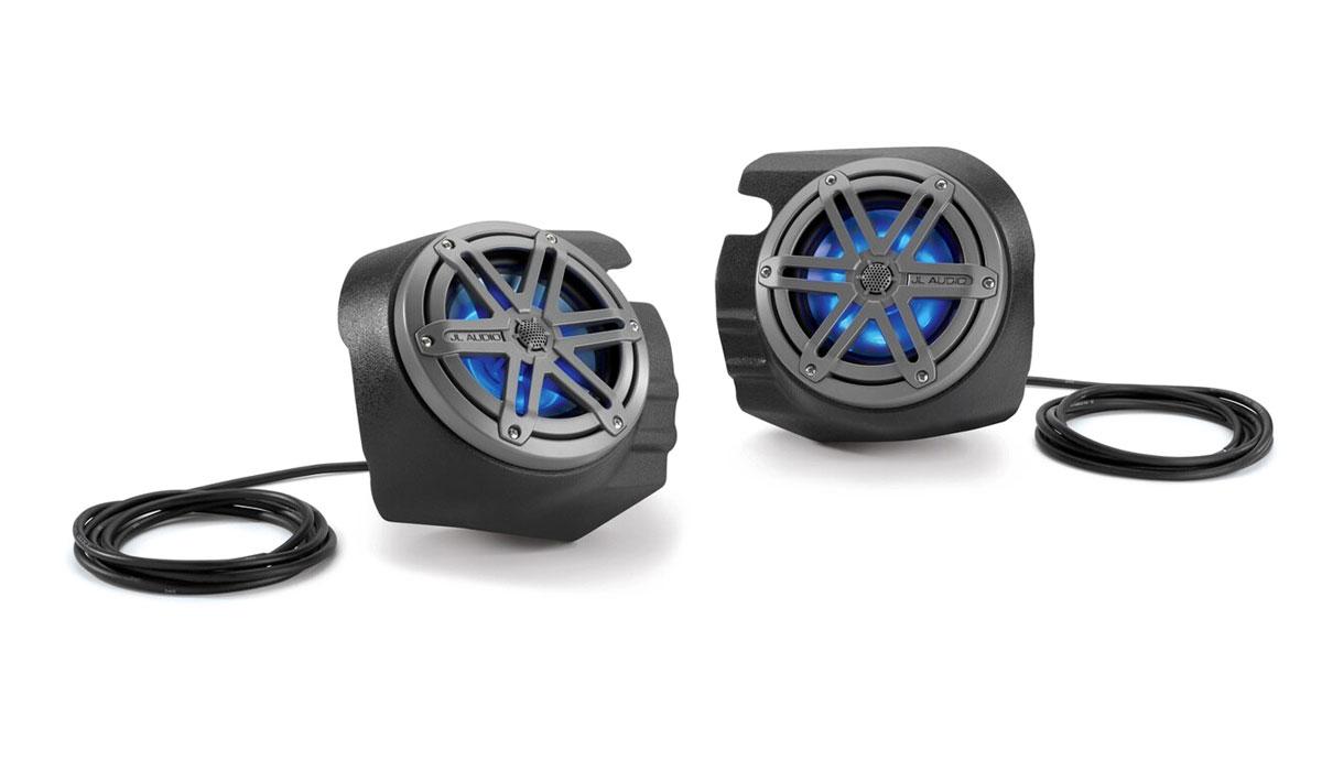 JL Audio SB-POL-RZG2SPKR/MX650 Stealthbox® for 2014-2018 Polaris RZR 4 900, 900XC, XP 1000 & XP4 1000