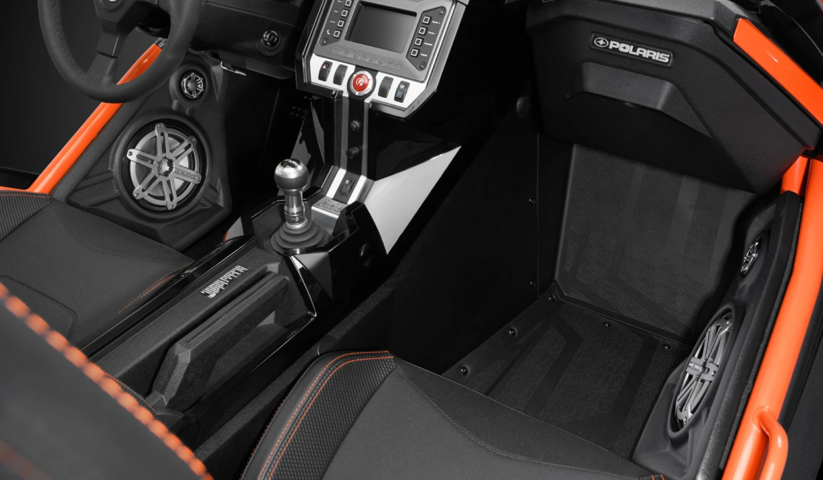 JL Audio SB-POL-SLINGSPKR/M770 Stealthbox® for 2017-Up Polaris Slingshot, Speaker Pods