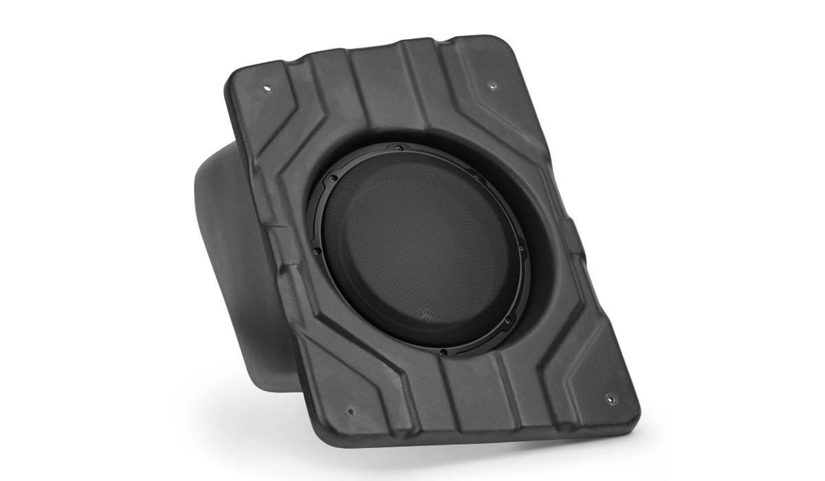 JL Audio SB-POL-SLINGSUBP/10W3v3-2 Stealthbox® for 2015-Up Polaris Slingshot, 2 Ω (Passenger Side)