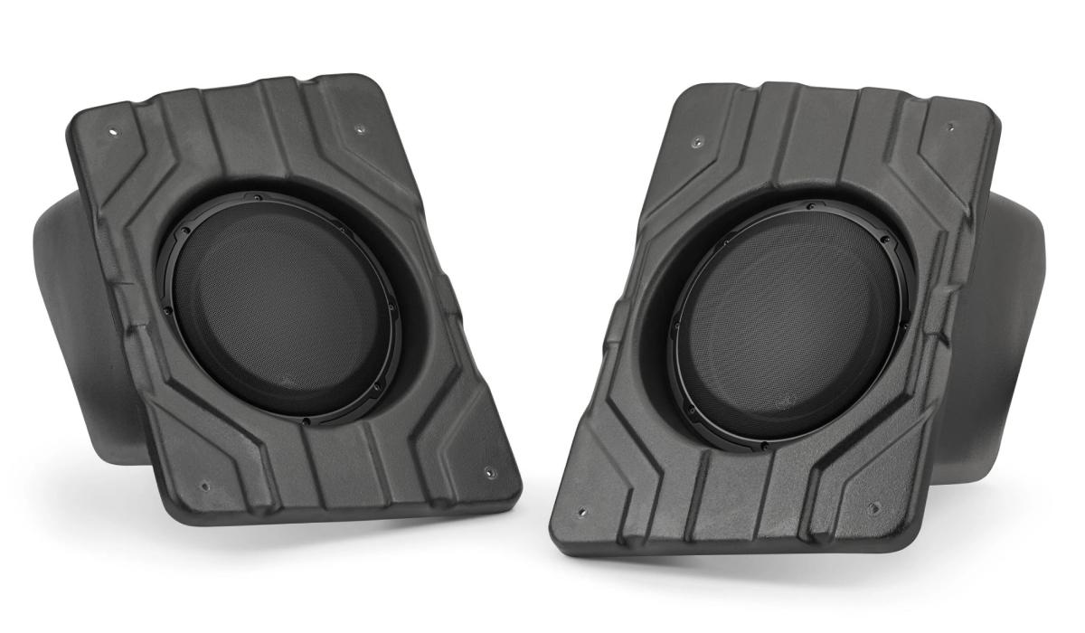 JL Audio SB-POL-SLINGSUBP/10W3v3-4 Stealthbox® for 2015-Up Polaris Slingshot, 4 Ω (Passenger Side)