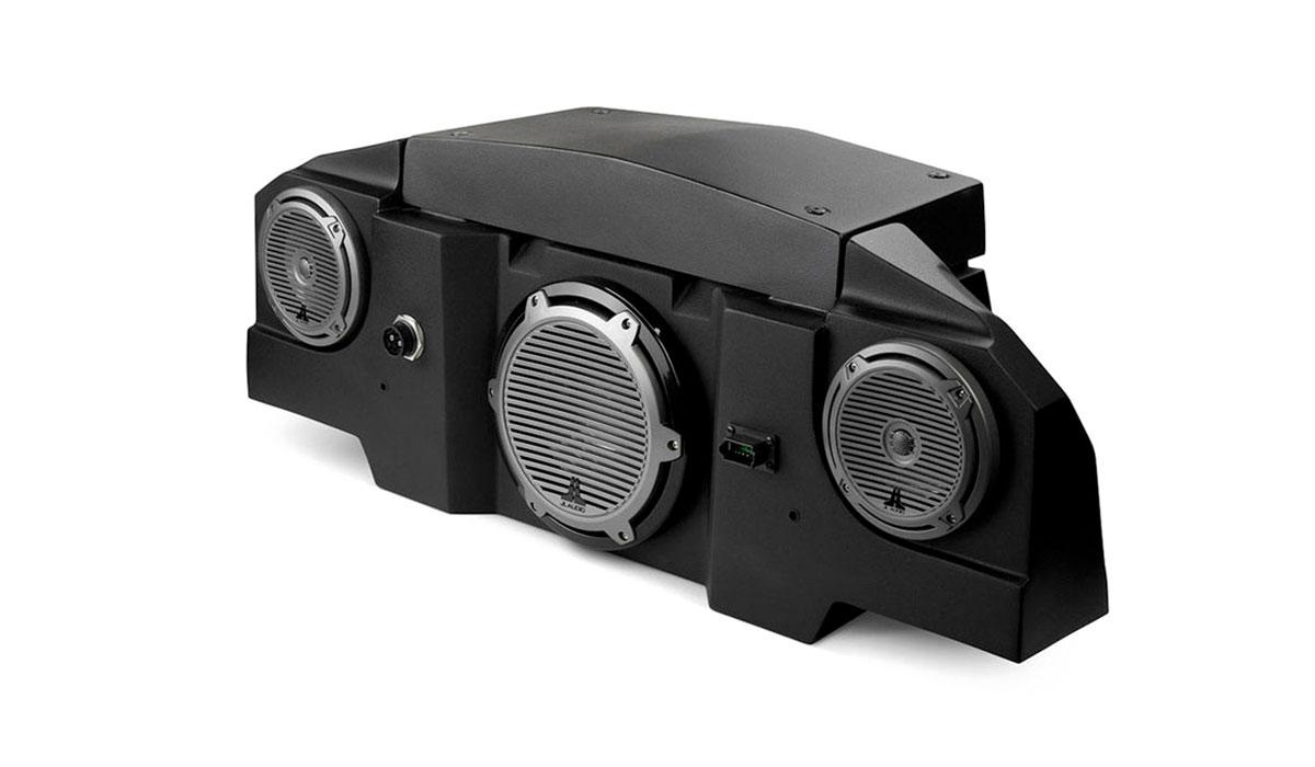 JL Audio SLPK-POL-RZR800v2 SlamPak Audio System for the 2008-Up Polaris RZR