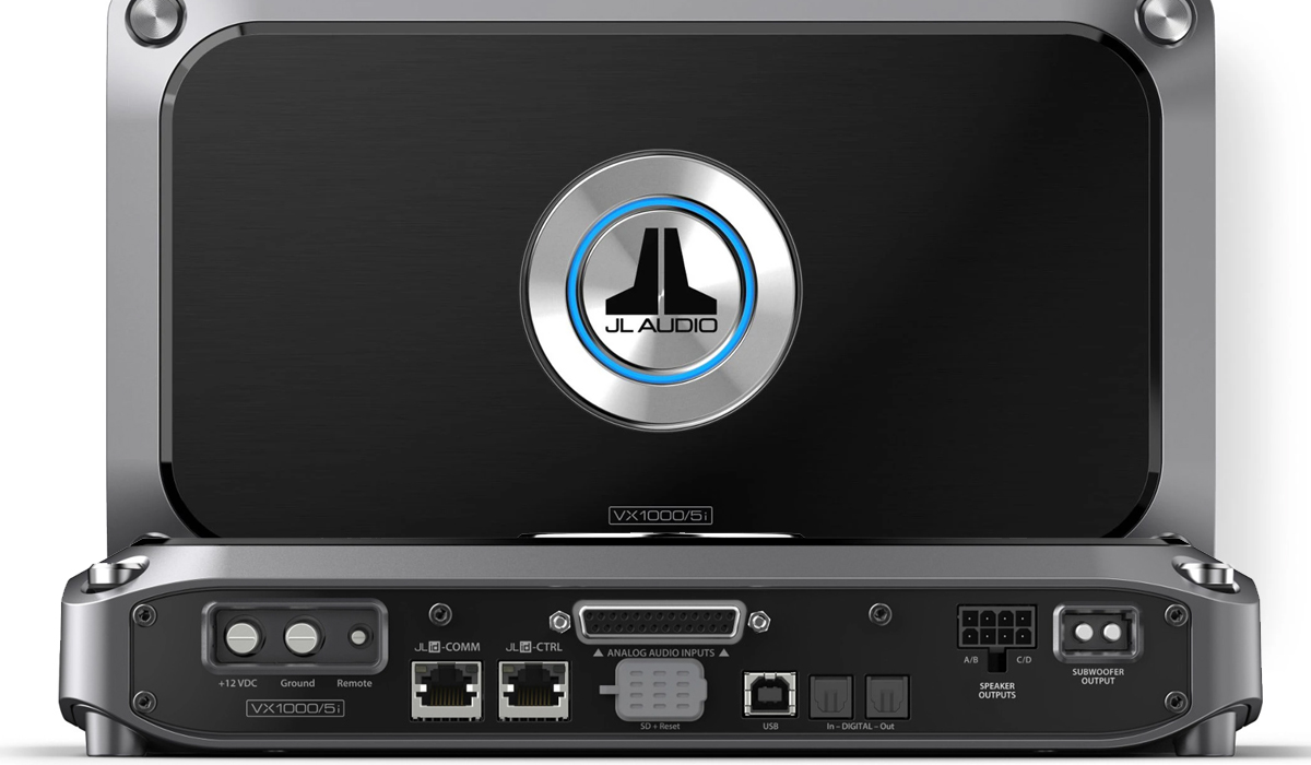 JL Audio VX1000/5i 5 Ch. Class D System Amplifier with Integrated DSP