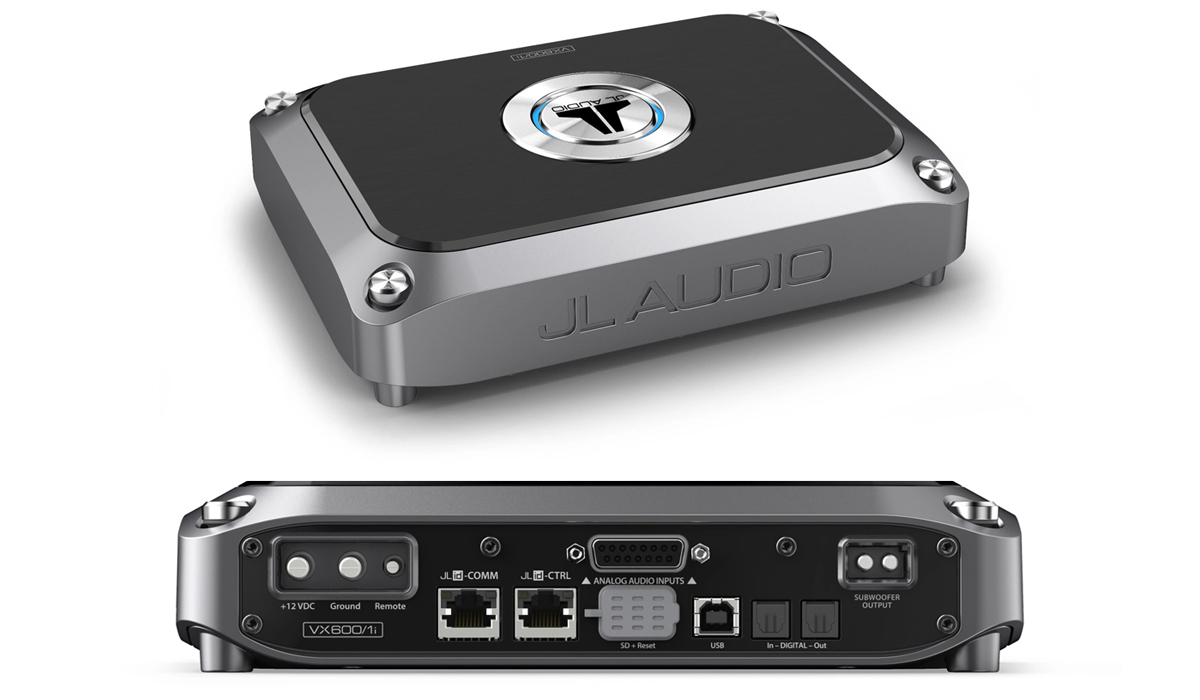 JL Audio VX600/1i Monoblock Class D Amplifier with Integrated DSP