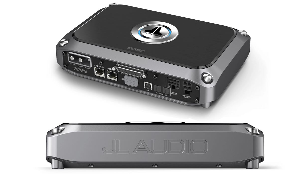 JL Audio VX700/5i 5 Ch. Class D System Amplifier with Integrated DSP