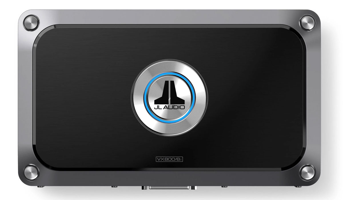JL Audio VX800/8i 8 Ch. Class D Full-Range Amplifier with Integrated DSP