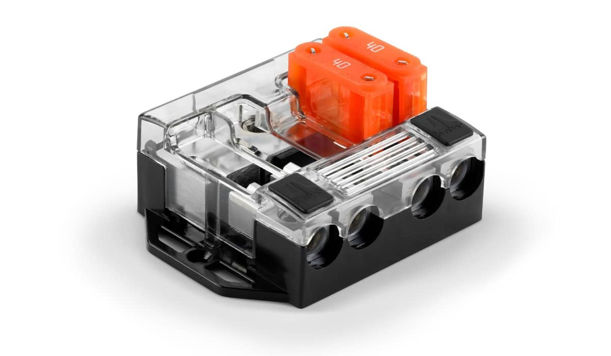 JL Audio XD-FDBU-4 4-Way MAXI™ Fused Distribution Block