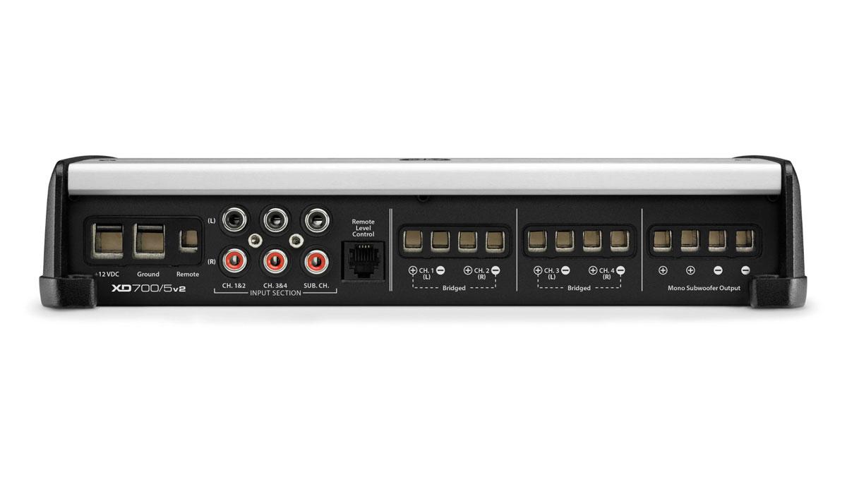 JL Audio XD700/5v2 5 Ch. Class D System Amplifier