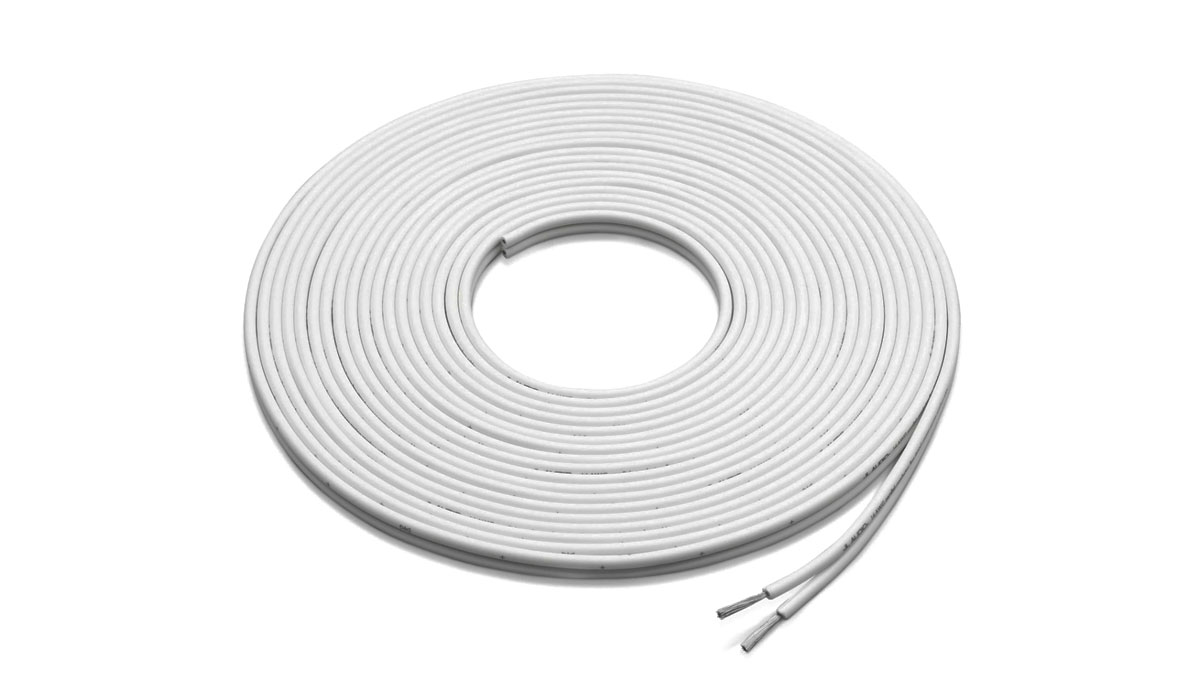 JL Audio XM-WHTSC16-500 500 ft Spool of White 16 AWG Parallel Conductor Speaker Cable