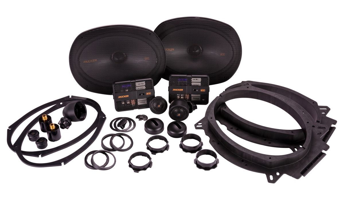 Kicker 47KSS6904 KS Series 6x9 inch Component Speaker System