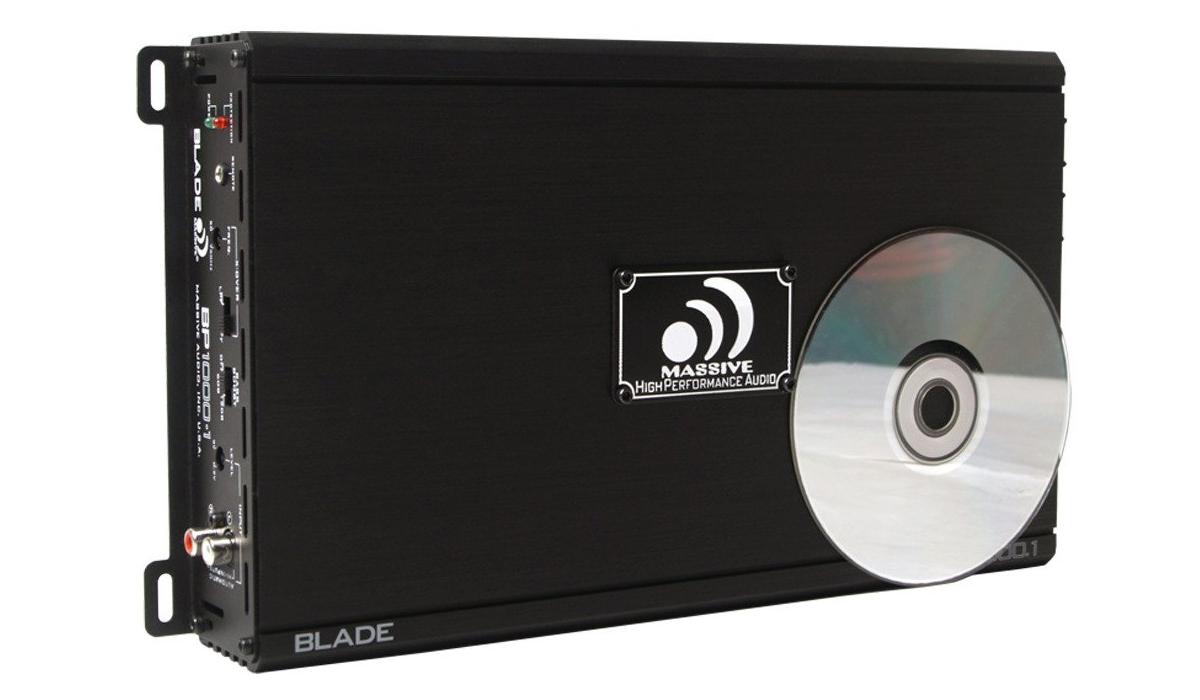 Massive Audio Massive Audio BP1000.1 V2 455 WATTS RMS @ 2 OHM FULL RANGE MONO AMPLIFIER