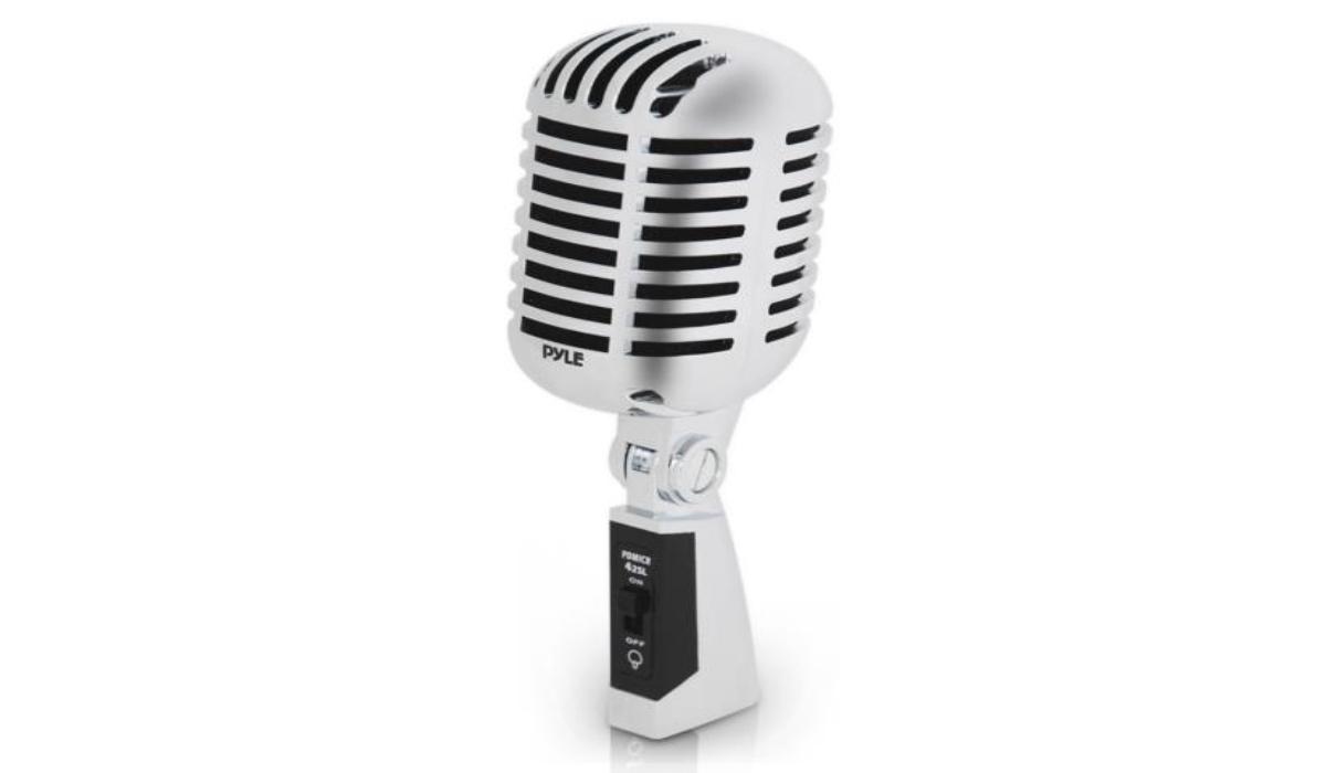 Pyle's Classic Retro Microphone