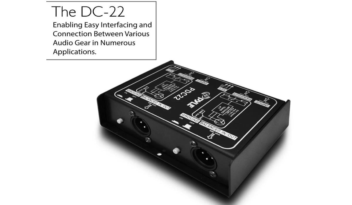 PDC22 Premium Dual Direct Injection Audio Box