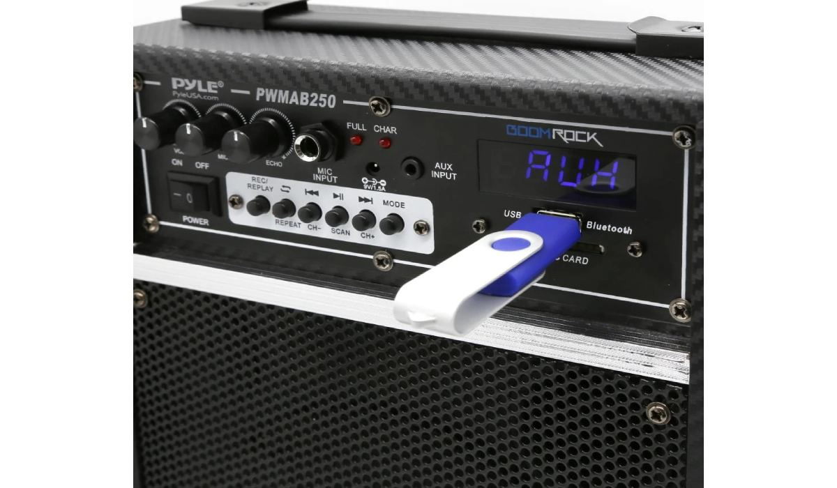 PWMAB250BK Portable PA Speaker System