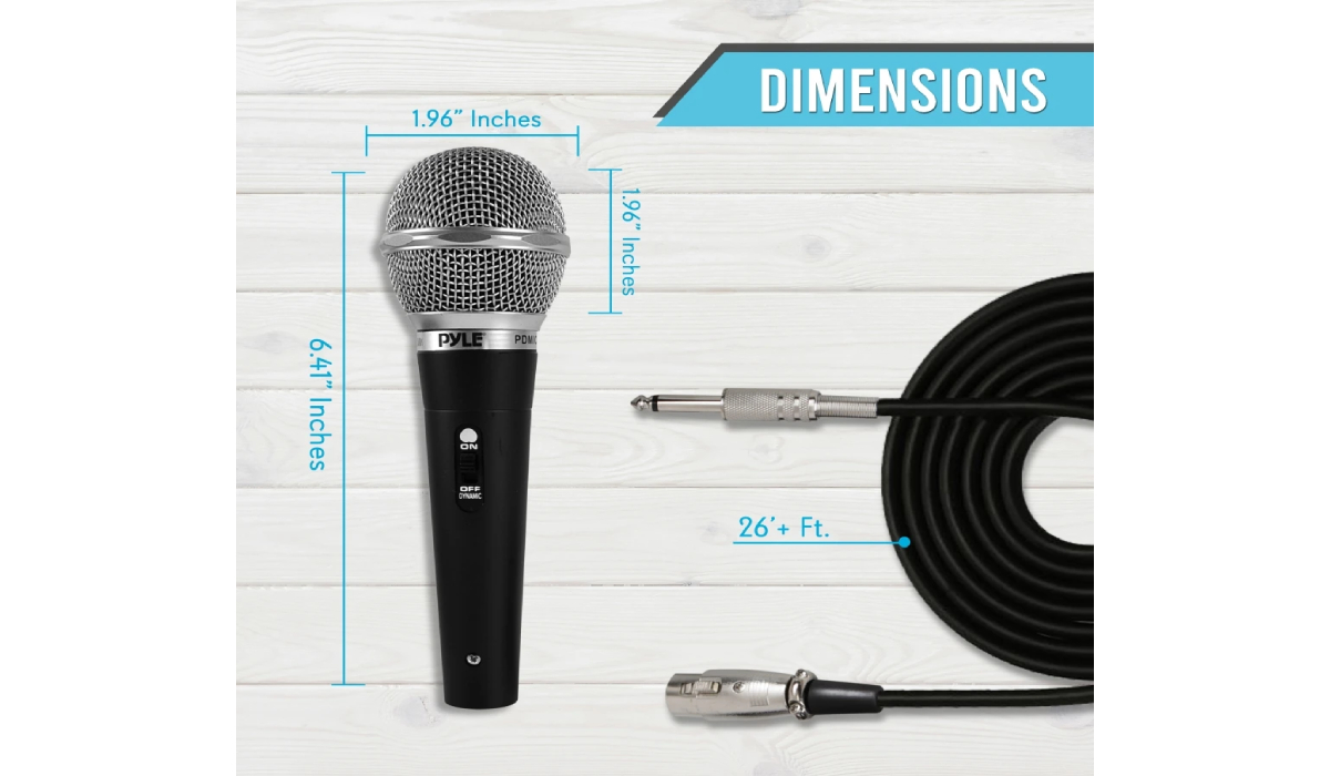 PDMICKT34 Dynamic Microphone Kit