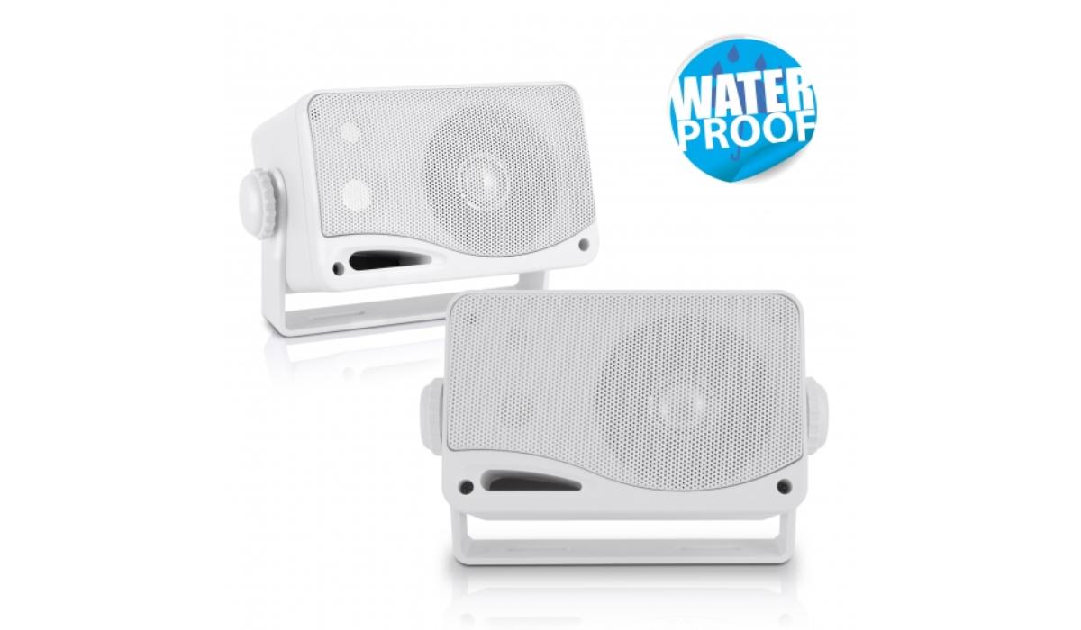 PLMR24 Weather Proof Mini Box Speaker System
