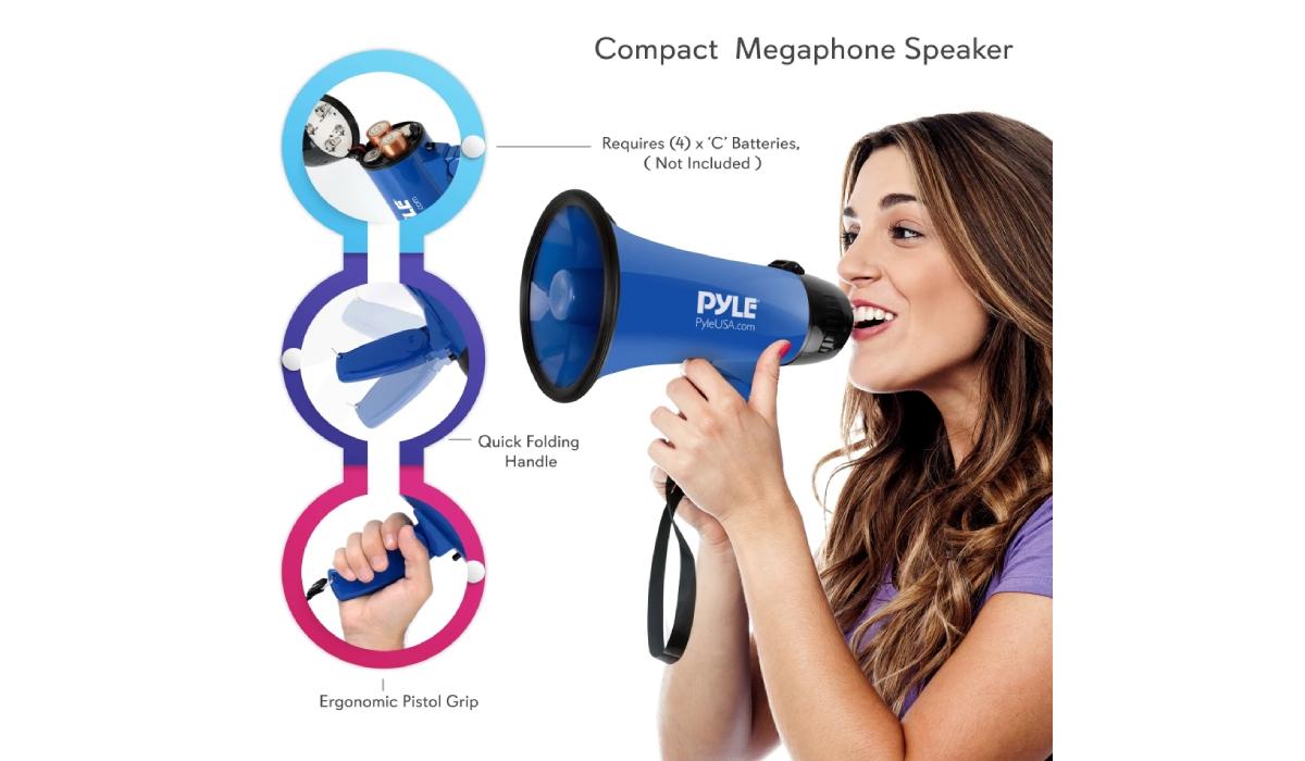 PMP21BL Mini Megaphone Speaker