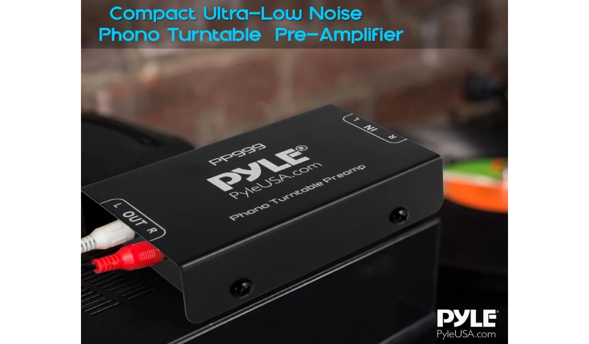 PP999 Compact Phono Turntable Preamp