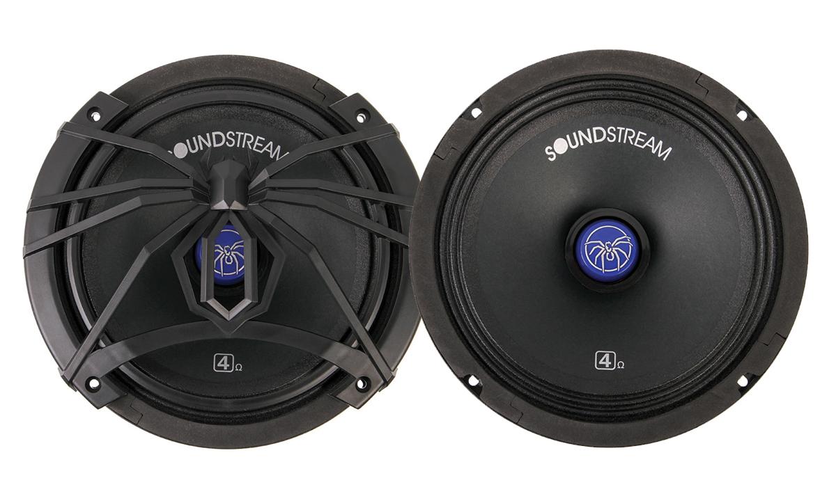 Soundstream SM800.PRO 8 inch Pro Audio Mid-Range Speaker 400 Watts Max Power