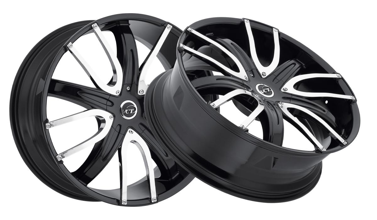 VCT Wheels V18 Black