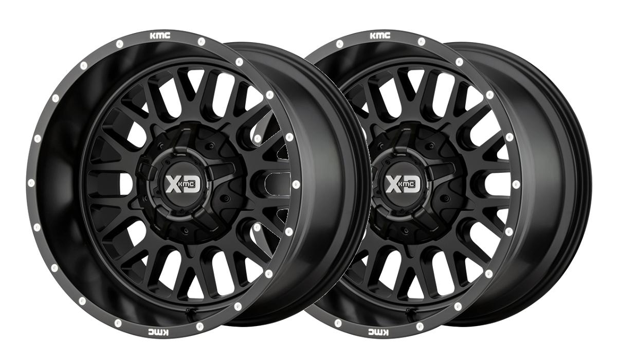 XD Satin Black Rims
